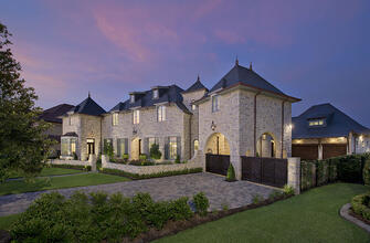 french country manor exterior