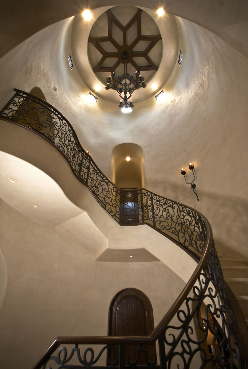 spanish colonial staircase