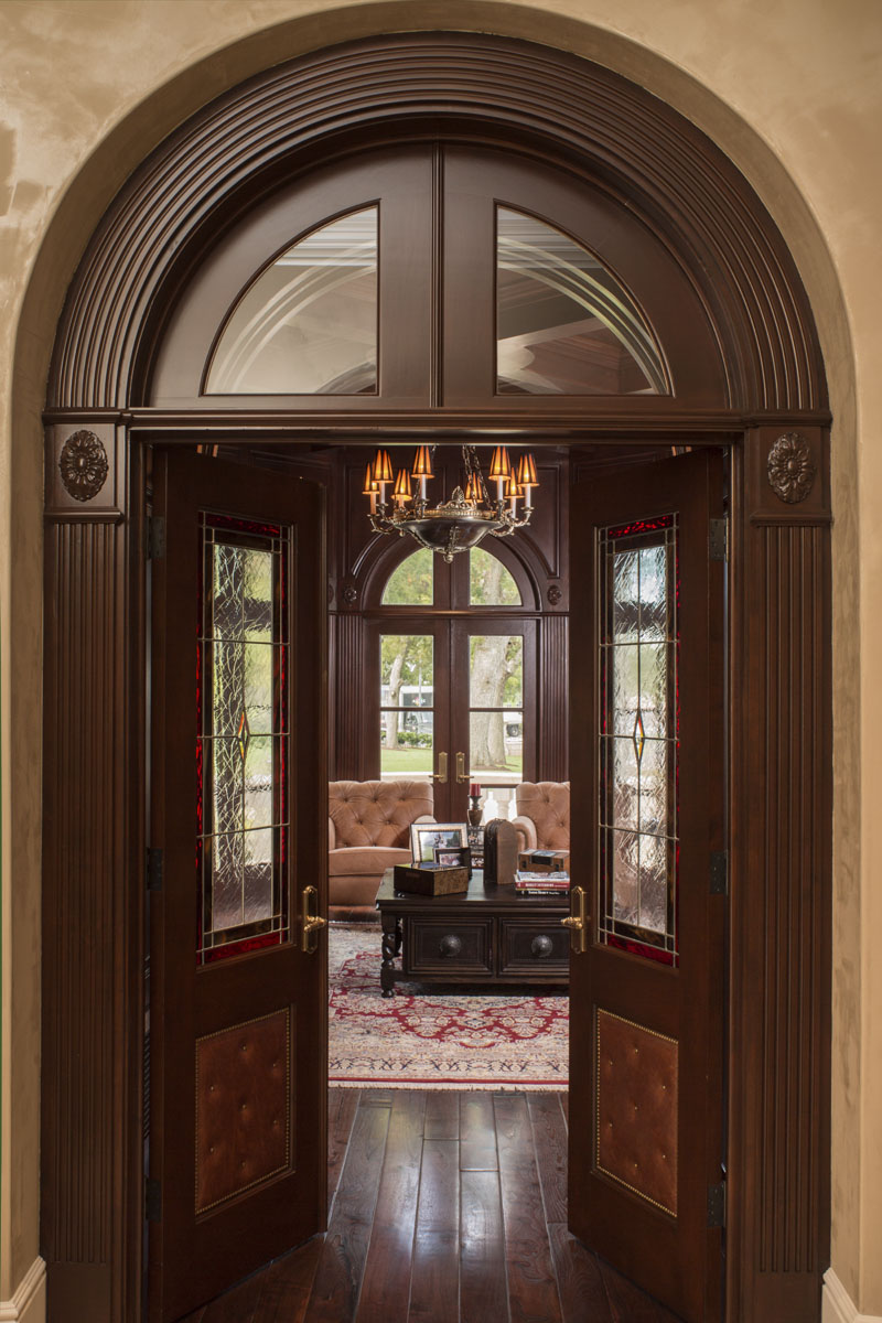 lakeside luxe intricate door frame