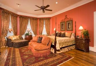 greek revival bedroom