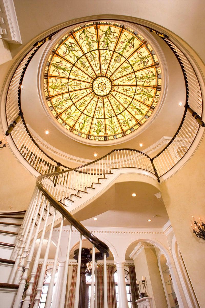 greek revival staircase