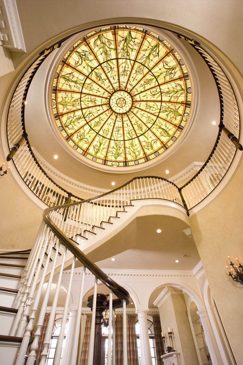 greek revival staircase