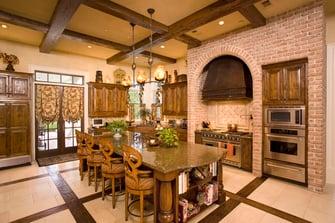 greek revival dining room design