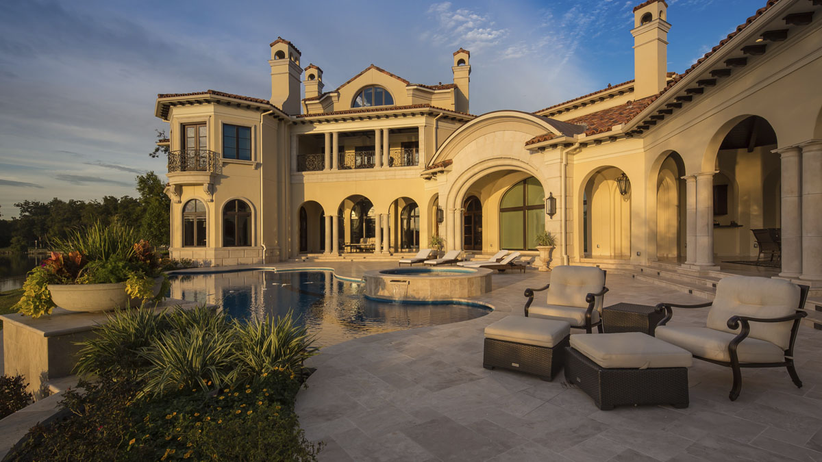 luxury home exterior sims builders