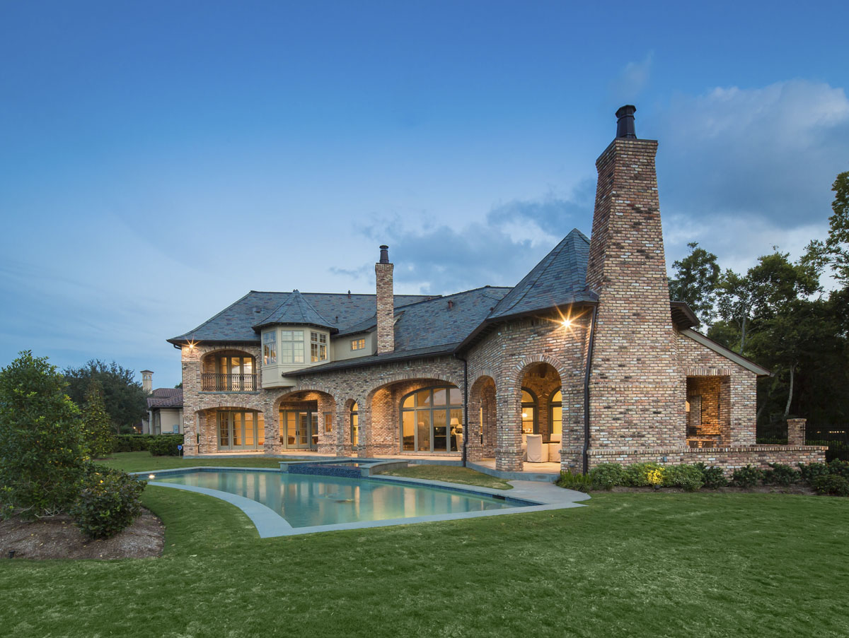 houston home side yard design