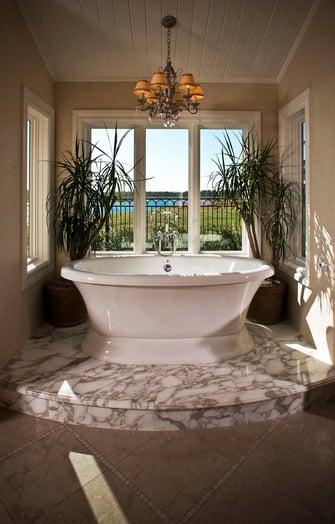 custom louisiana acadian bathroom