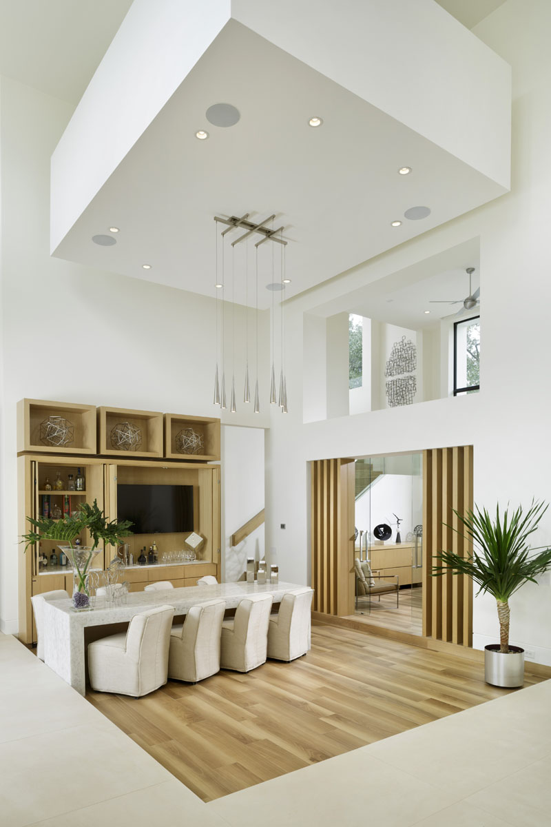 custom tanglewood modern dining room