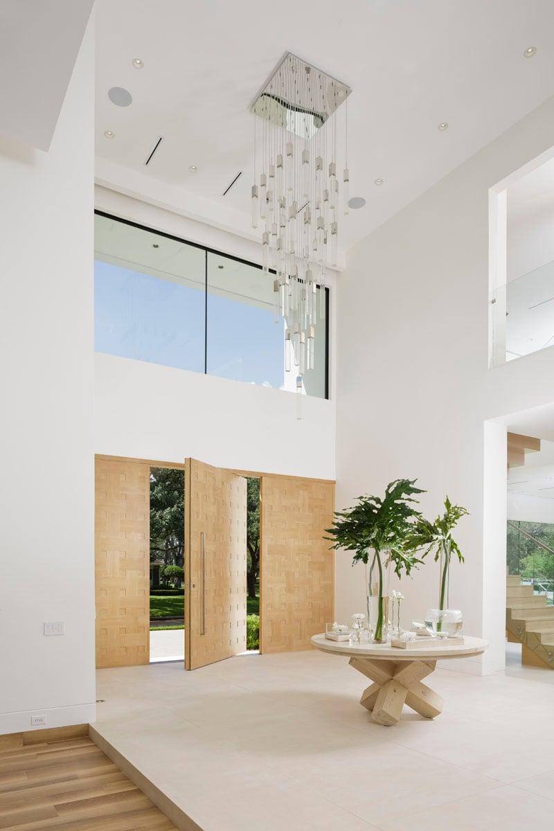 custom tanglewood modern foyer