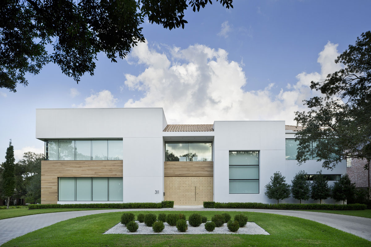 custom tanglewood modern exterior