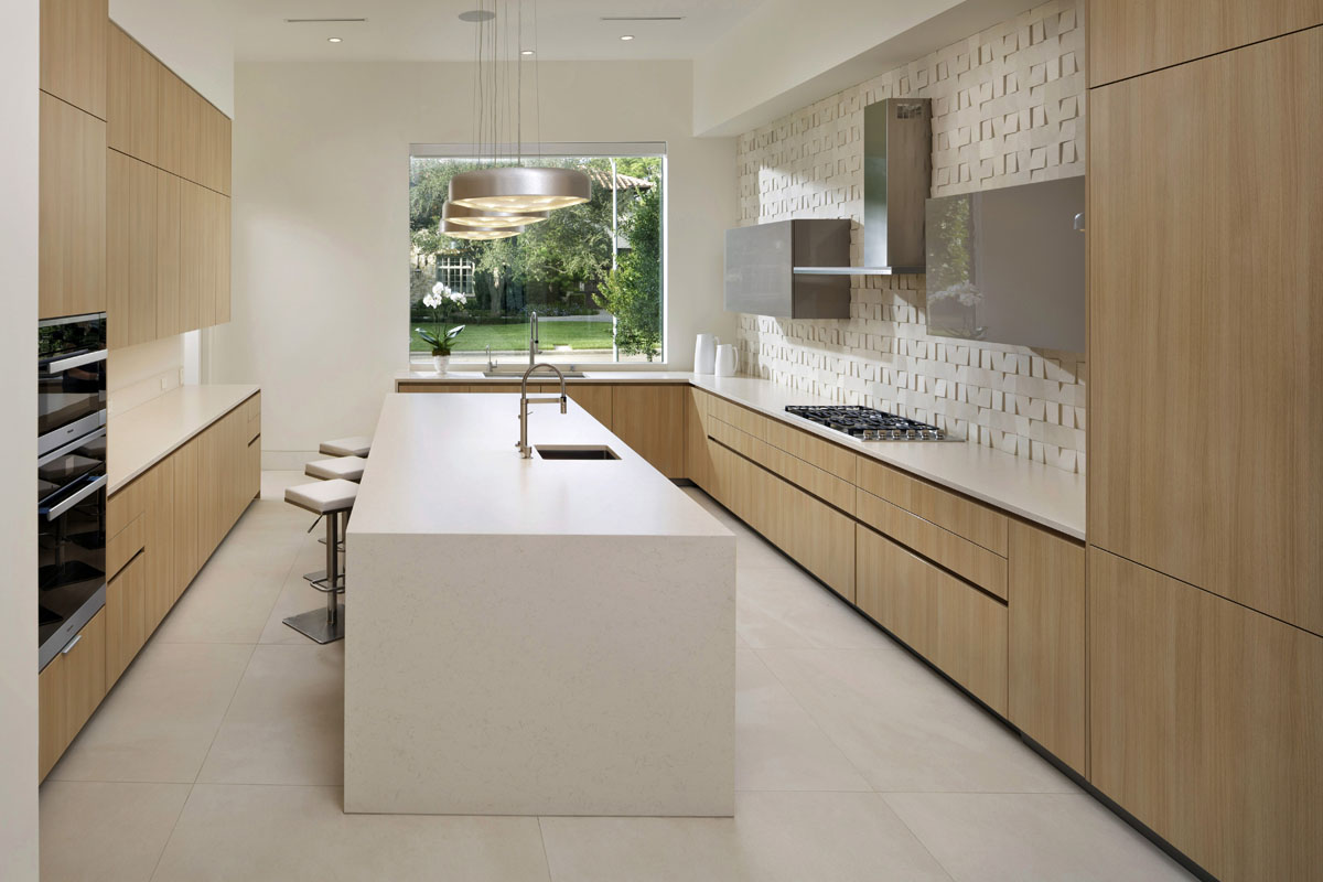 custom tanglewood modern kitchen