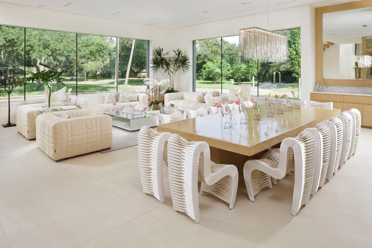 custom tanglewood modern living room