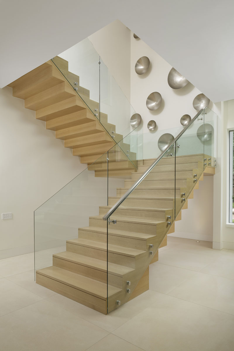 custom tanglewood modern staircase