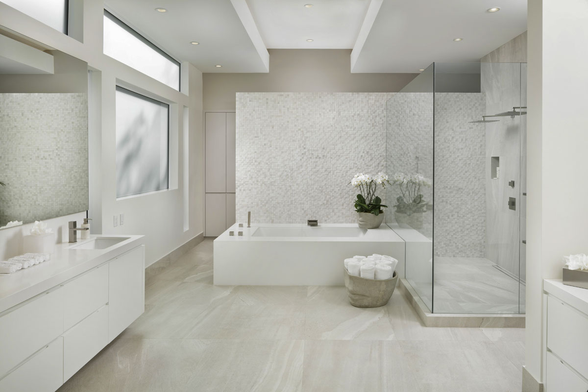custom tanglewood modern bathroom