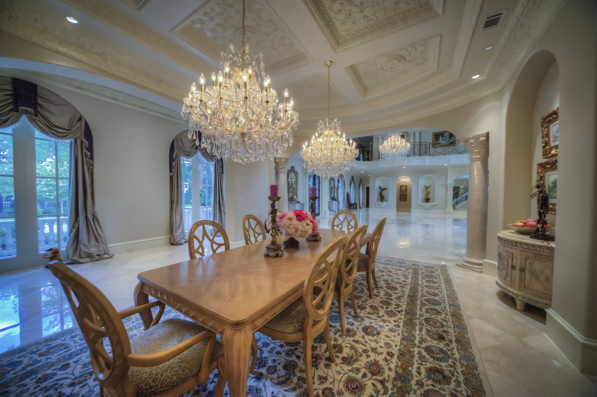 saddlebrook mediterranean grand dining room
