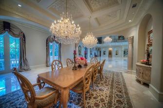 saddlebrook mediterranean grand dining room
