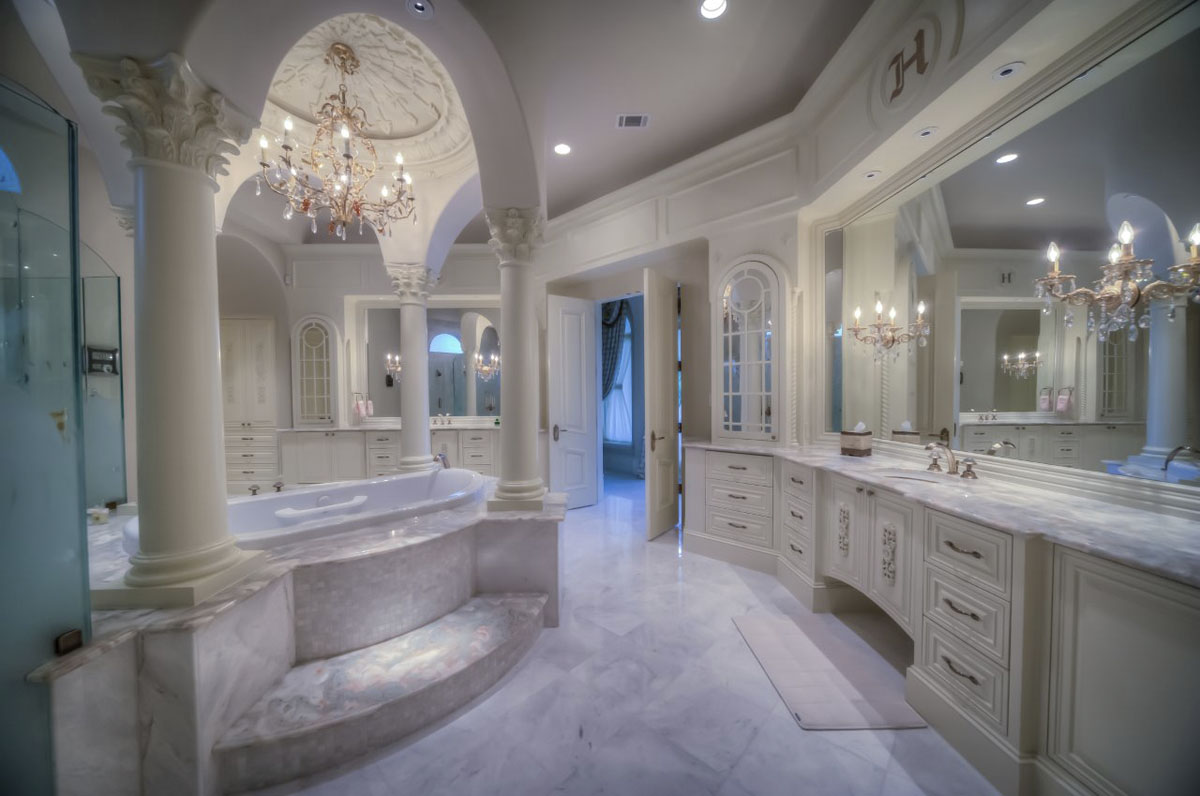 saddlebrook mediterranean bathroom