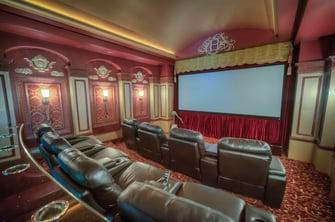 saddlebrook mediterranean home theater