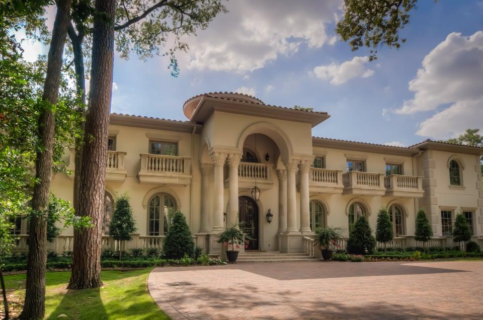 Mediterranean architecture style home