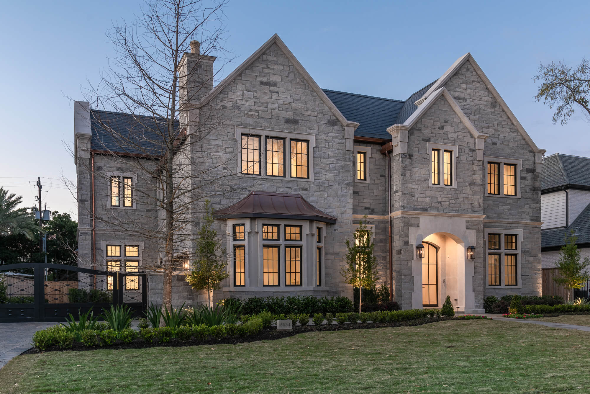 new-construction home by Sims Luxury Builders