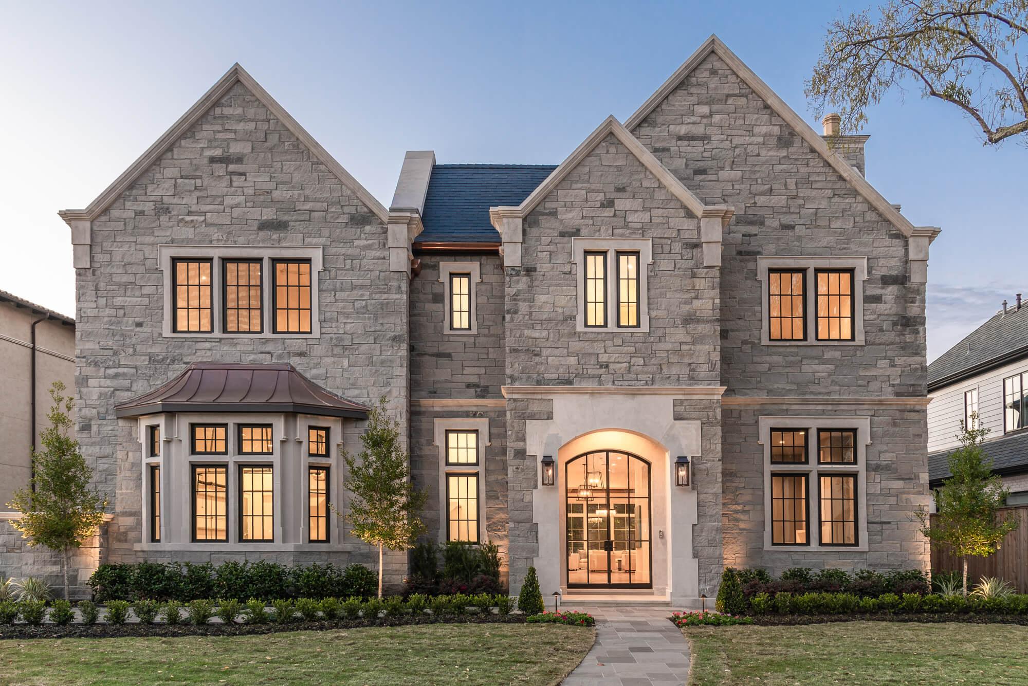 natural stone exterior