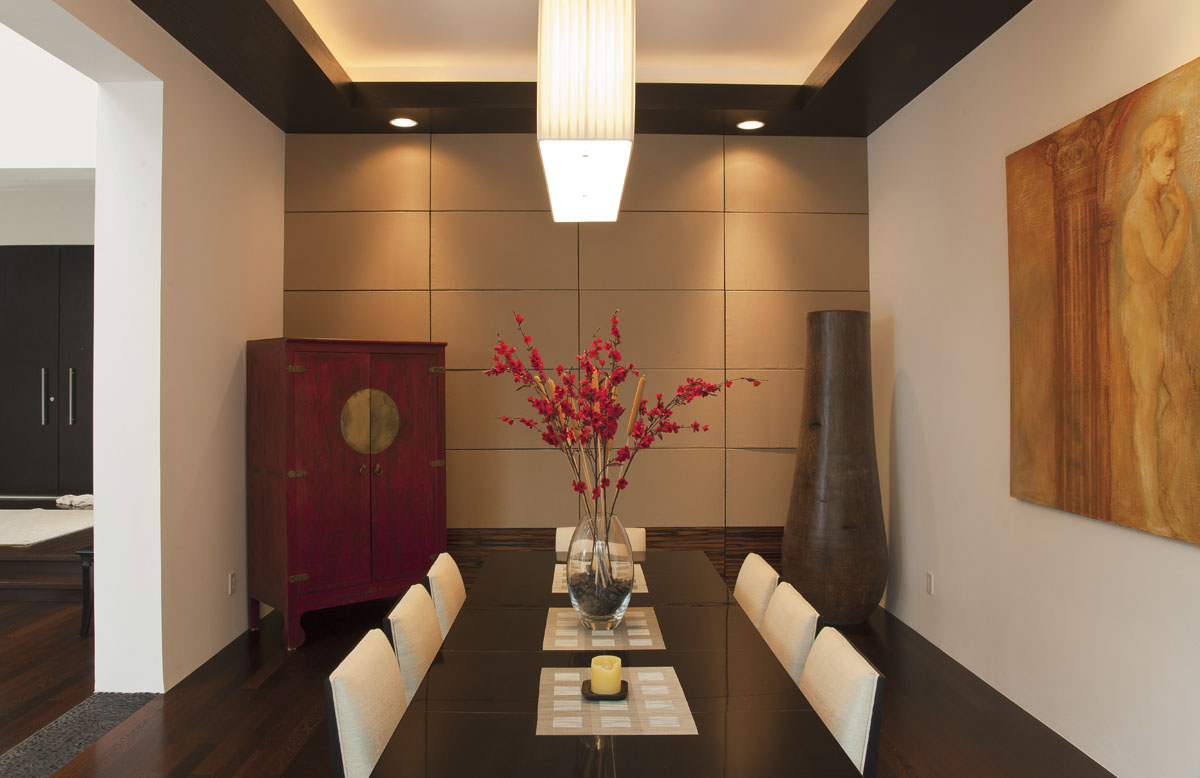 custom contemporary dining room