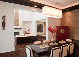 custom contemporary dining room
