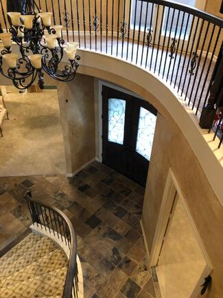 8 Before - Stair Hall