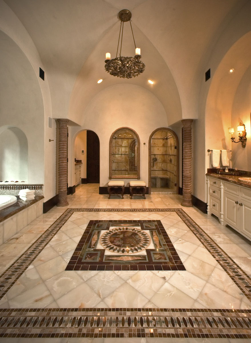 spanish colonial foyer