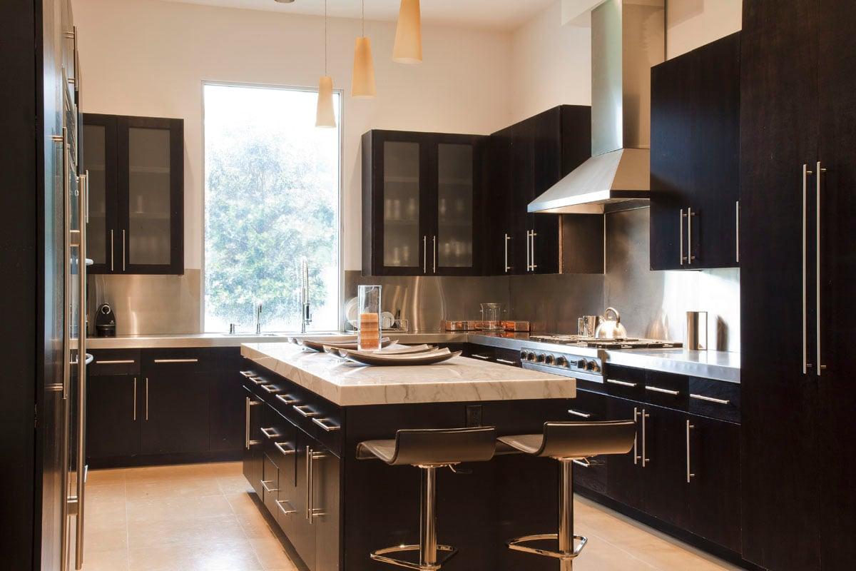 custom contemporary kitchen