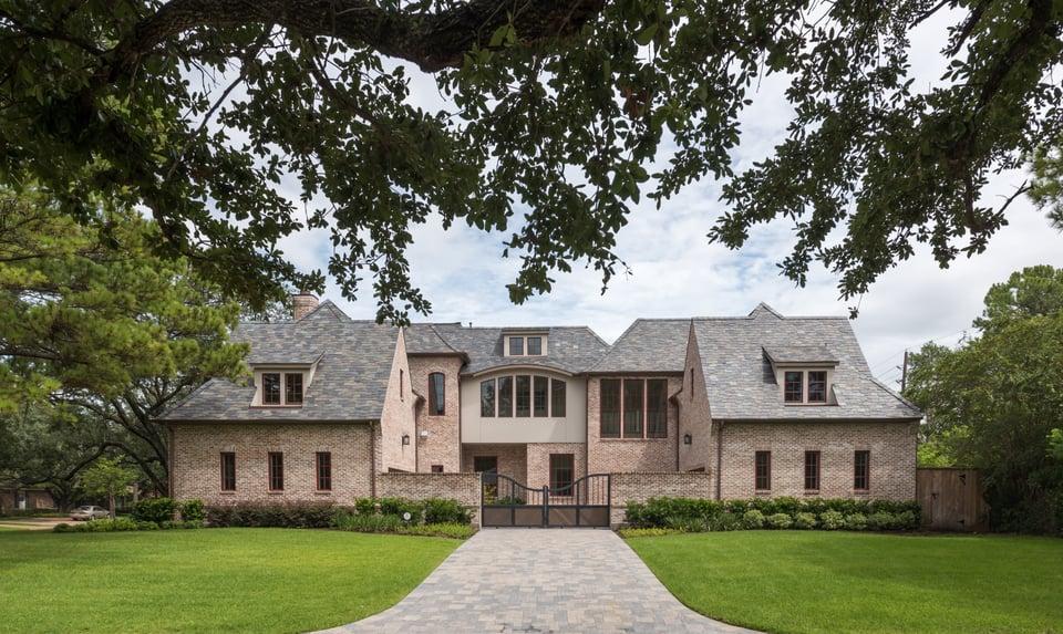 brick exterior home