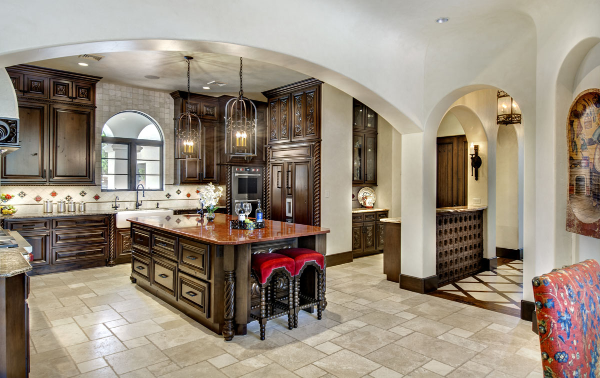 spanish mediterranean kitchen