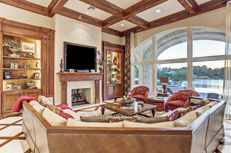 paradise point living room