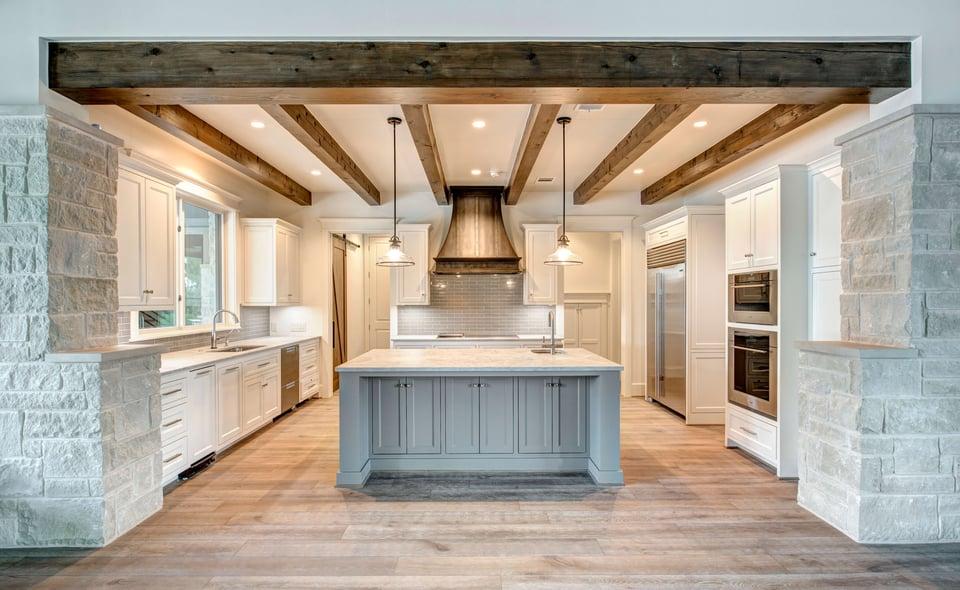 leed platinum kitchen view