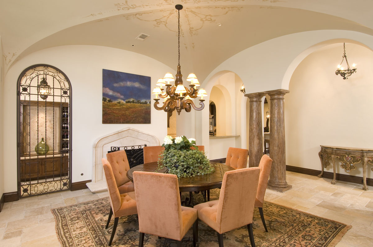 spanish colonial dining