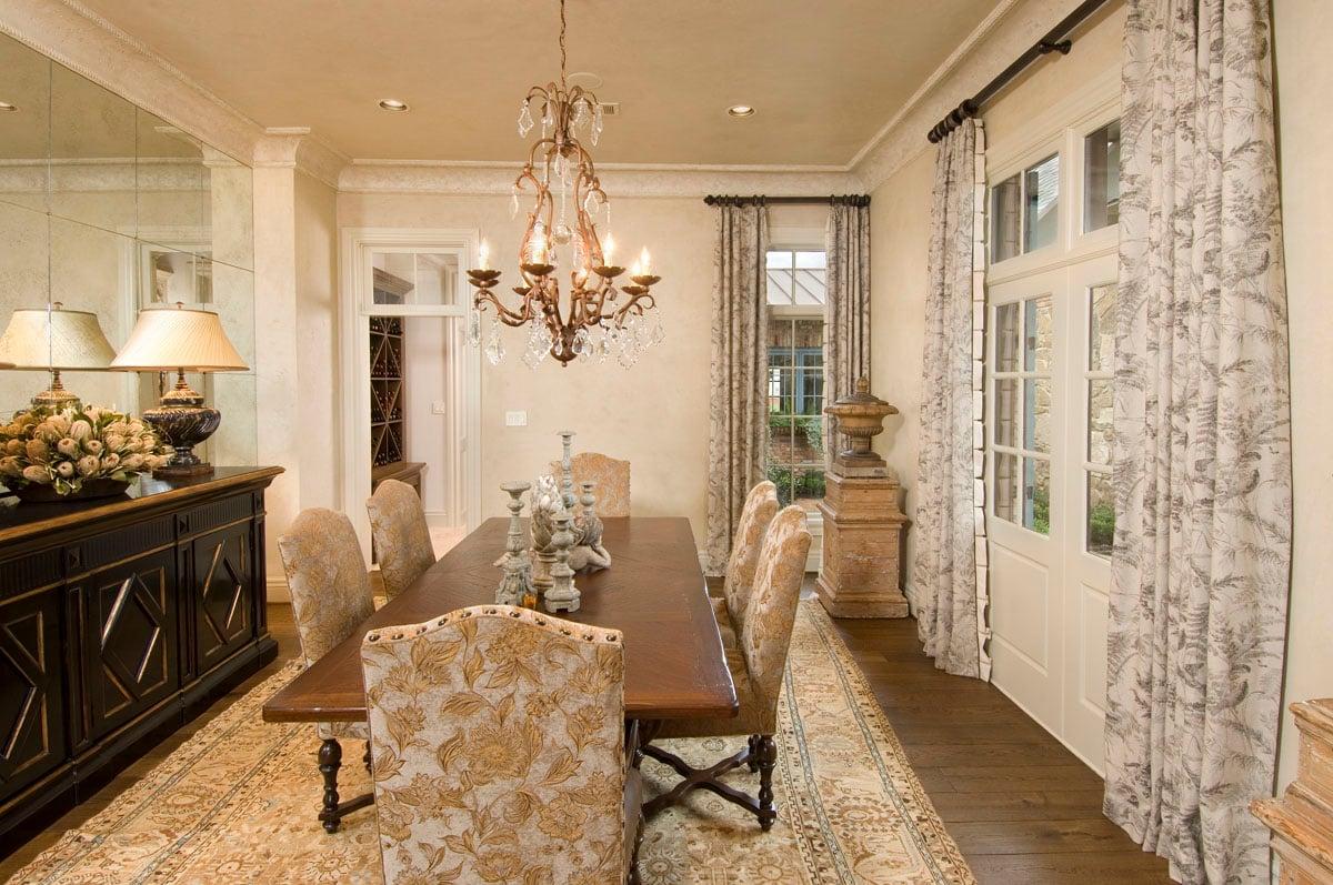 custom louisiana acadian dining room