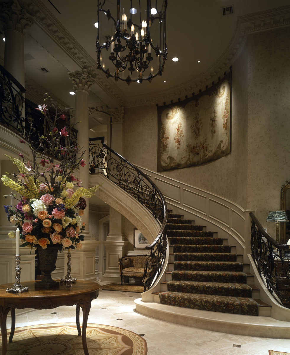 french chateau foyer