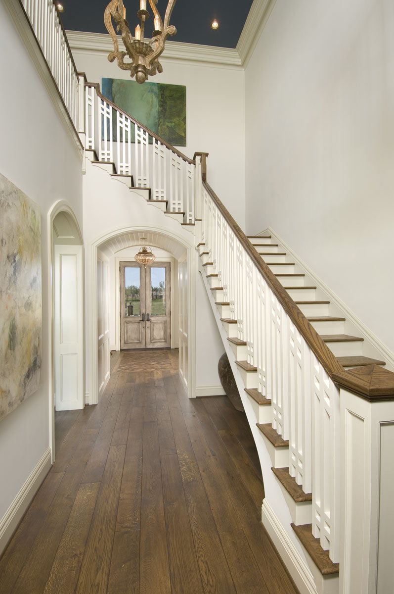 custom louisiana acadian foyer