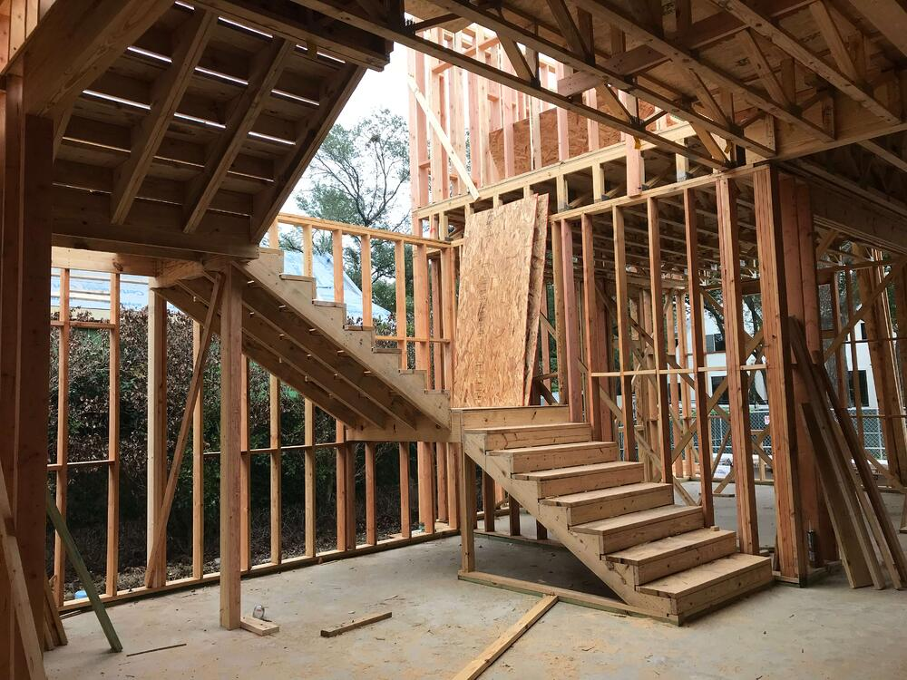 Frame Stage - Tanglewood Spec Home on Longmont