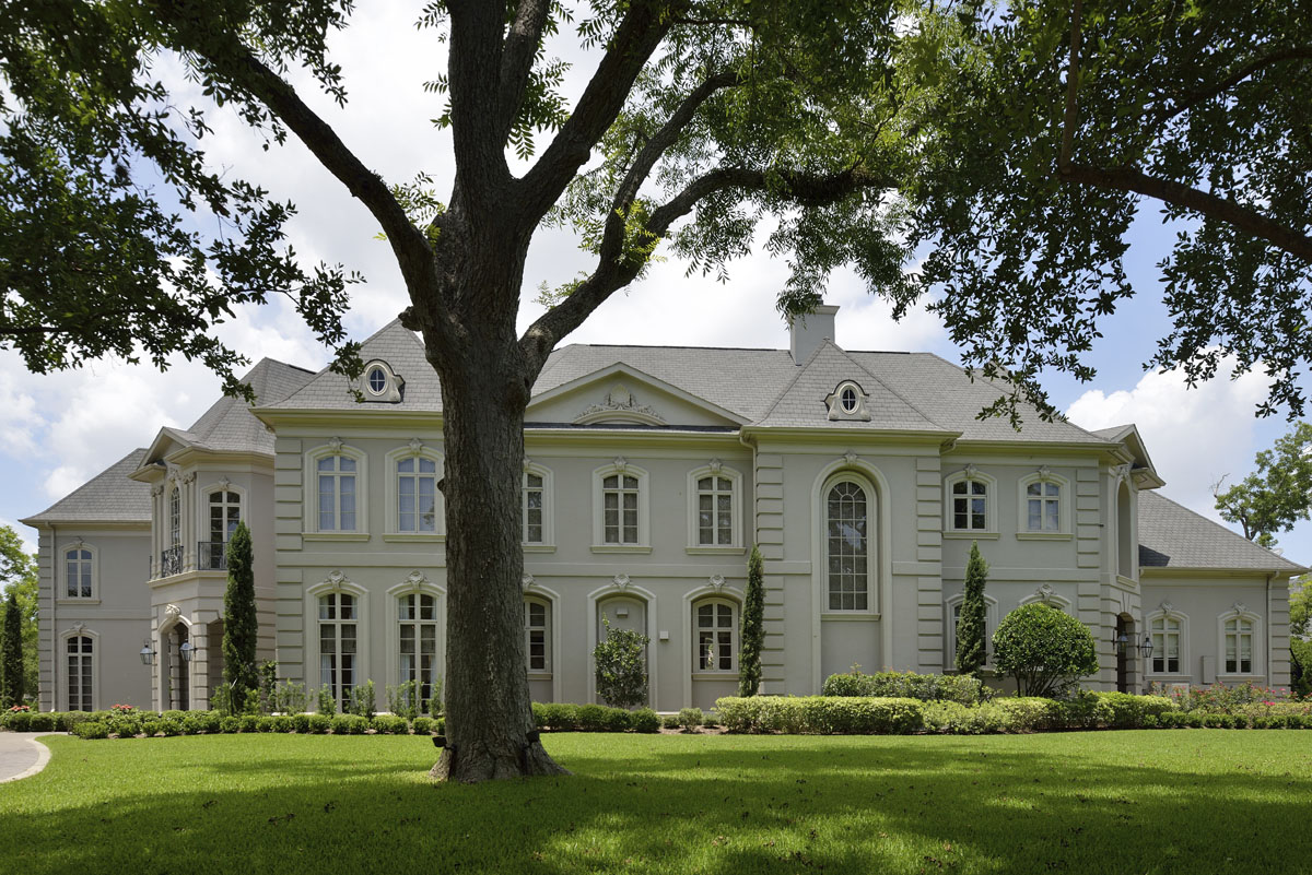 french manor exterior front