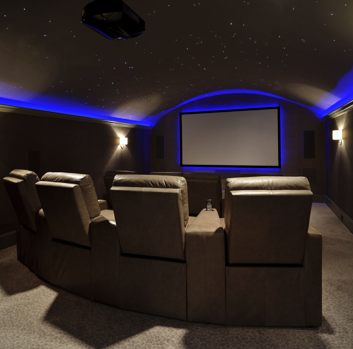 french manor movie room