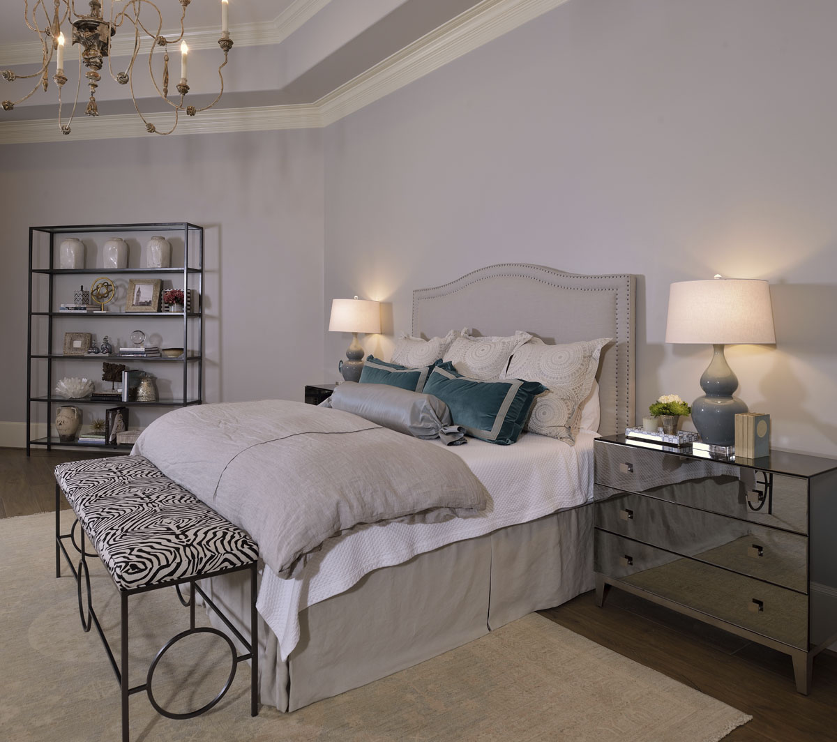 french manor bedroom