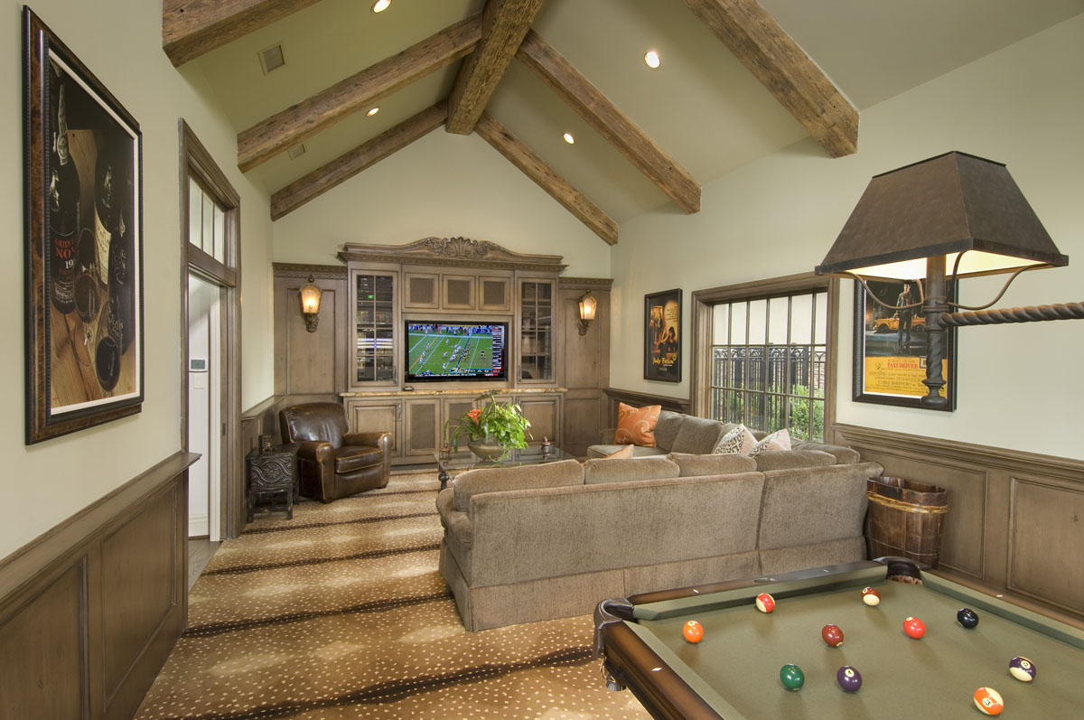 custom louisiana acadian game room