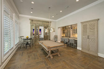Game room french country