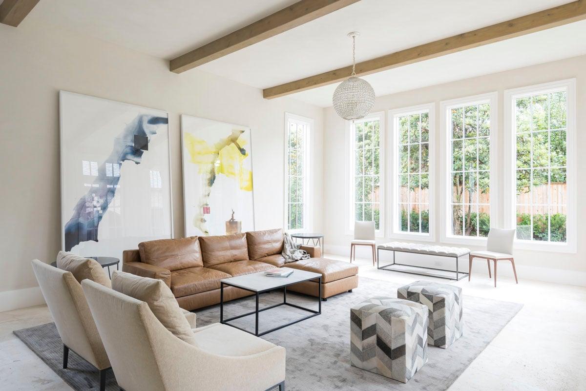 custom english country living room