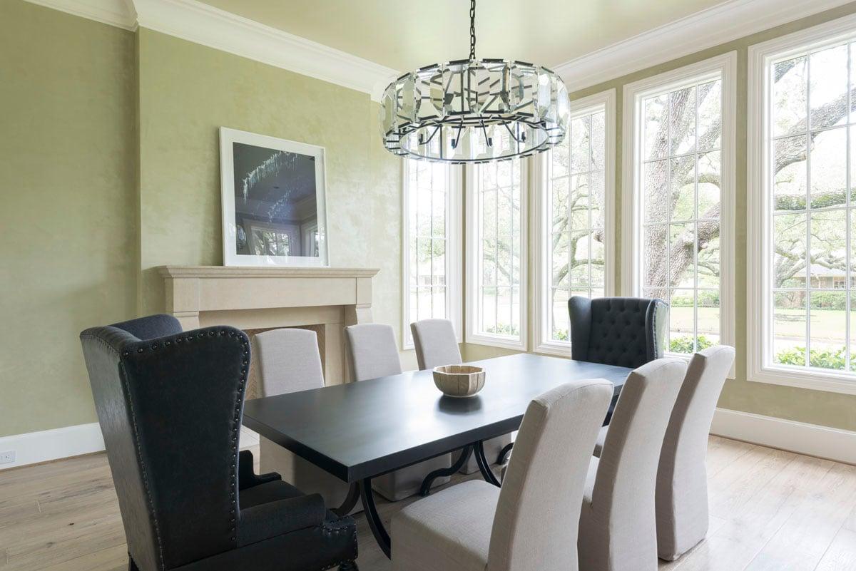 custom english country dining room