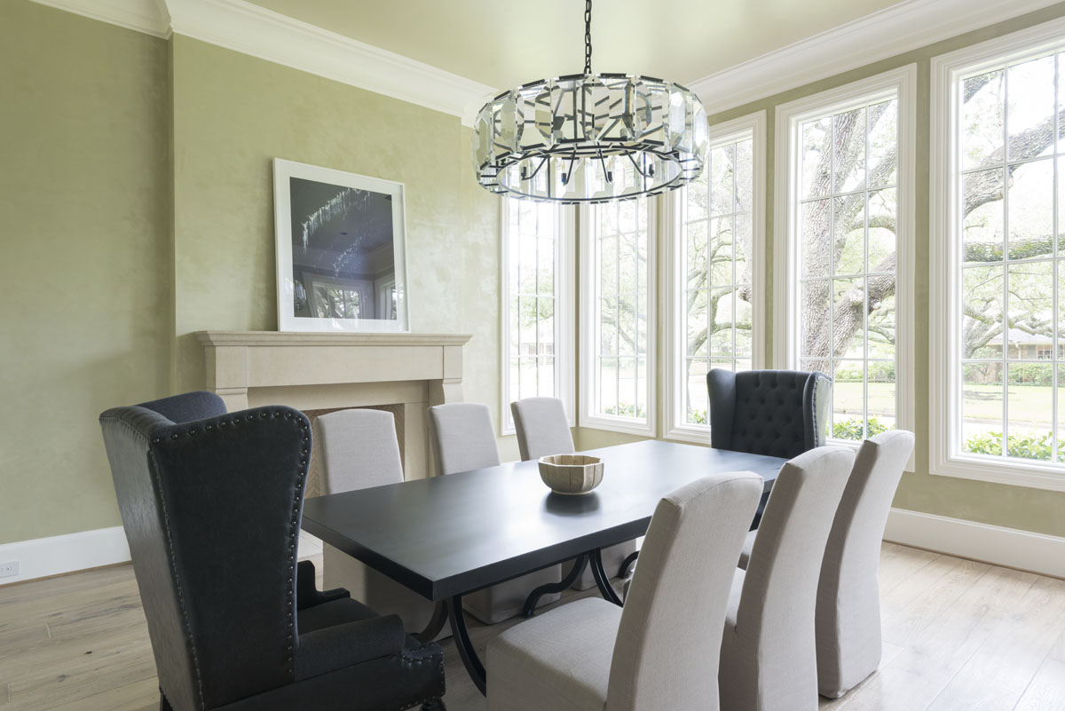custom english country dining room