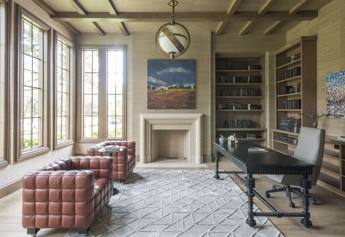 custom english country library