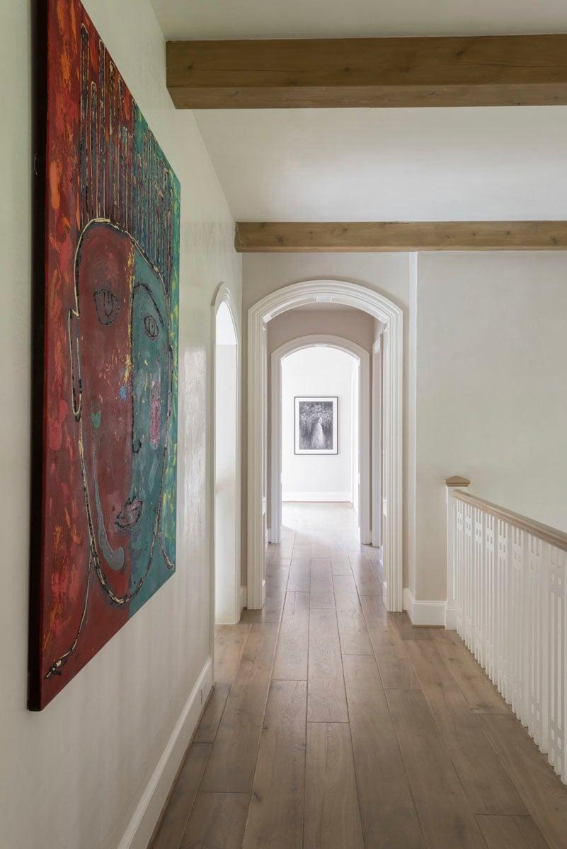 custom english country hallway