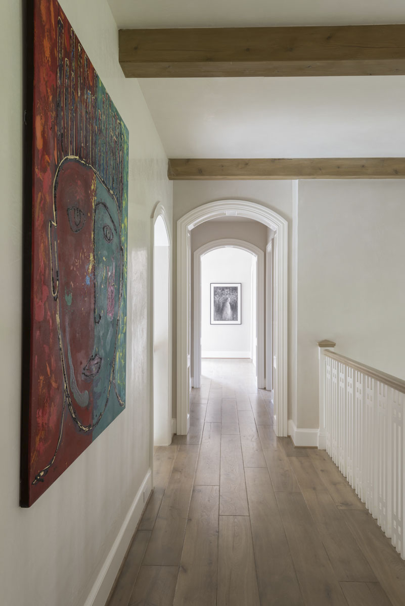 custom english country hallway