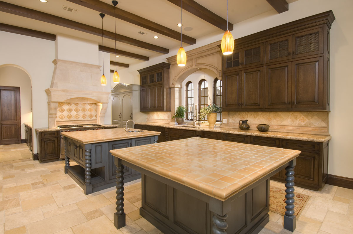Kitchen spanish colonial